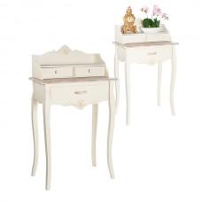 Консольный столик с лепниной 12-006