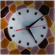 Часы стеклянные настенные интерьерные c-002