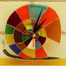 Часы стеклянные настенные интерьерные cd-001
