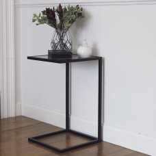 Столик приставной черный
