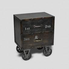 Тумбочка Loft Style  на колесах