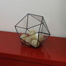 Стеклянная ваза для конфет в стиле лофт pi001.22