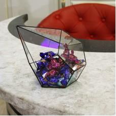 Стеклянная ваза для конфет в стиле лофт pi003