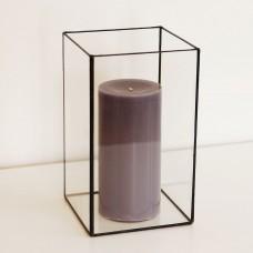 Стеклянный подсвечник в стиле лофт pi009