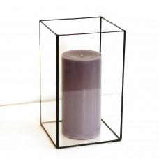 Стеклянная ваза  в стиле лофт 3-020-1