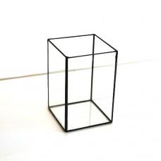 Стеклянная ваза  в стиле лофт 3-022-1