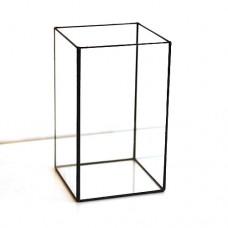 Стеклянная ваза  в стиле лофт 3-021-1