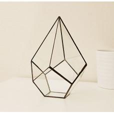 """Террариум """"Капля"""", додекаэдр , емкость  для  комнатных декоративно-лиственных растений"""