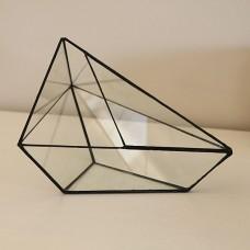 """Геометрический флорариум  """"Элпис"""", оригинальная ваза"""